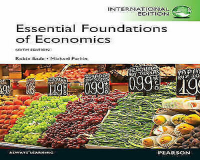 £15.95 • Buy Essential Foundations Of Economics By Michael Parkin, Robin Bade (Paperback,...