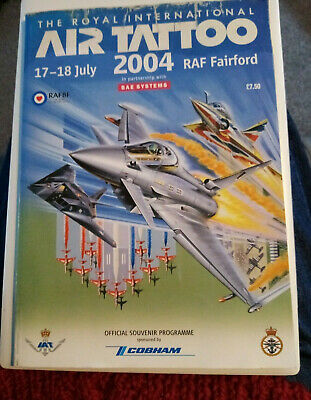 £1.99 • Buy Vintage Royal International Air Tattoo 2004 Official Souvenir Programme With Map