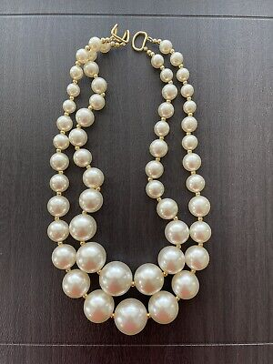 £1.42 • Buy Faux Pearl Necklace, Fashion Jewelry, Faux Pearl Statement Necklace