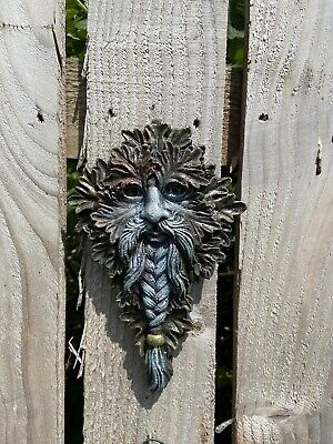 £7.10 • Buy GREEN MAN Of The Forest Wall Plaque Oak Guardian WOOD SPIRIT Pagan Wiccan