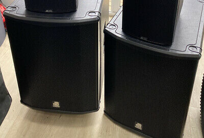 £1650 • Buy Db Technologies Sub18h Active Sub High Powered Inc Covers Pair