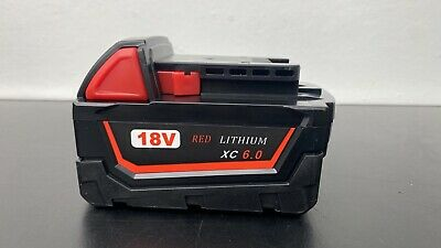 £29.99 • Buy For Milwaukee M18B5 18V 6.0Ah Li-ion Battery - Replace 18Volt Power Tool Battery