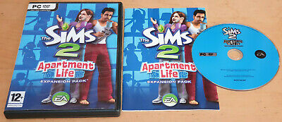 £13.99 • Buy The Sims 2 Apartment Life Expansion Pack For PC DVD Rom Complete
