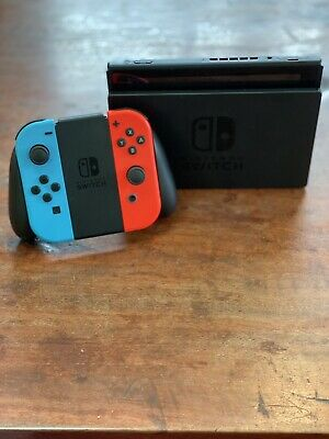 AU300 • Buy Nintendo Switch Handheld Console, 32gb, Refurbished New, Neon Blue/Red.