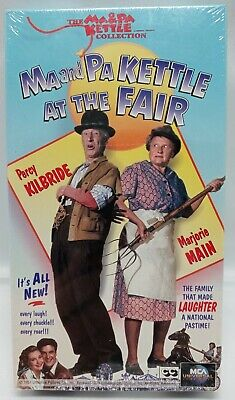 $7.19 • Buy Brand New Ma And Pa Kettle At The Fair (VHS, 1994) Factory Sealed Free Shipping