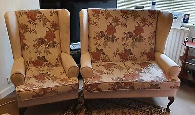 £60 • Buy High Seat Chair, Fireside, Cottage Style. Suite 2+1