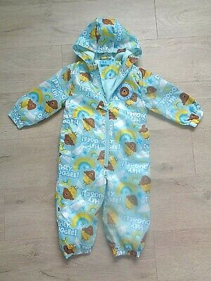 £13.99 • Buy Cbeebies Hey Duggee All In One/ Rainsuit/ Puddlesuit Age 18-24 Months - Tu
