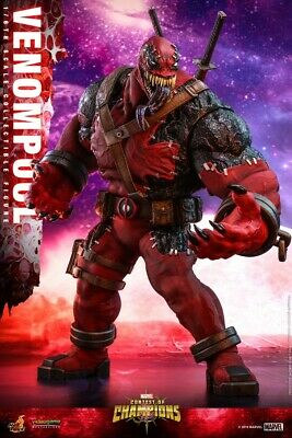 $ CDN281 • Buy  Hot Toys VGM35 1/6th Marvel Contest Of Champions Venompool Figure Collectible