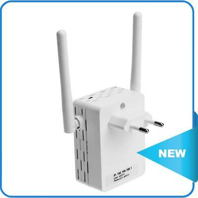 £9.29 • Buy 300M Wall Plug WiFi Wireless Receiver Router Repeater With External Antenna ✨