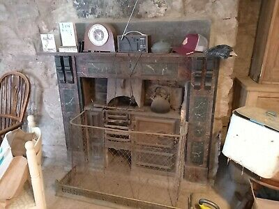 £50 • Buy Cast Iron Range Cooker Vintage Coal Fired Stove. Reclamation Cottage Antique