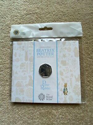 £5.99 • Buy 2018 50p Fifty Pence BU Coin Beatrix Potter Peter Rabbit Royal Mint Sealed Pack