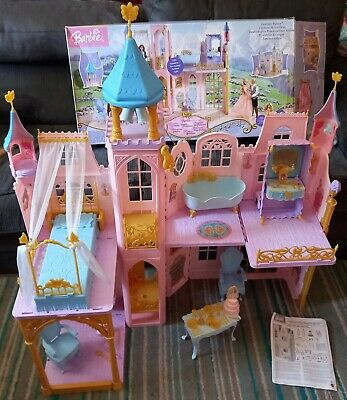 £80 • Buy Rare Boxed Mattel Barbie The Princess & The Pauper Fantasy Palace & Accessories