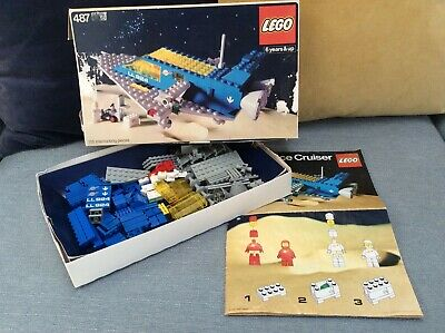 £34 • Buy Lego 487 924 Vintage Space Cruiser. Classic Space Set From 1978, Boxed