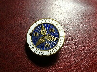 £3 • Buy Cyclists Touring Club Enamell  Lapel Badge  Brooch