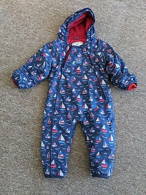 £20 • Buy Jojo Maman Bebe All In One Puddle Suit 12/18 Months