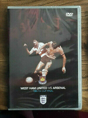 £4.99 • Buy NEW SEALED 1980 FA Cup Final West Ham United Vs Arsenal DVD