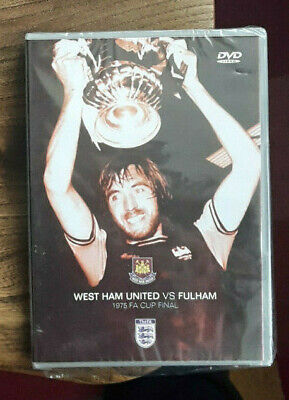 £4.99 • Buy NEW SEALED 1975 FA Cup Final West Ham United Vs Fulham DVD