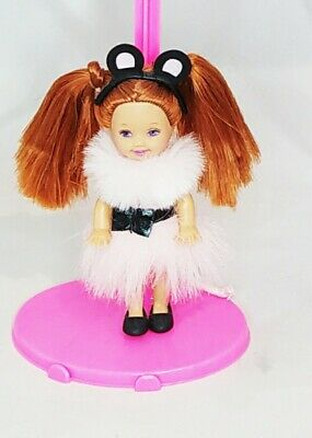 £7.99 • Buy Mattel Barbie Kerstie The Merry Mouse Doll Shelly Kelly Swan Lake Red Hair  Cute