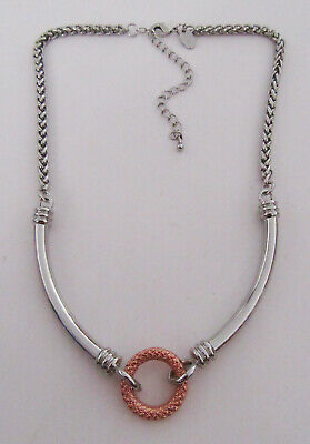 $ CDN0.12 • Buy Lia Sophia Jewelry Rose Gold And Silver Necklace
