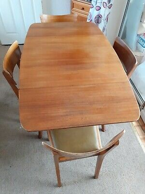 £95 • Buy Vintage Mid Century Early Gplan Table And Chairs E Gomme Gold Stamp Brandon