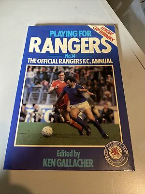 £5 • Buy Playing For Rangers No 14,, Edited By Ken Gallacher