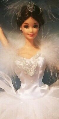 £10.86 • Buy Swan Lake Queen Barbie Doll Rooted Eyelashes Classic Ballet Series Collector