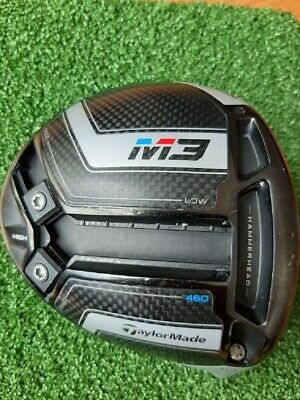 $ CDN188.24 • Buy Taylormade M3 460 Driver Head Only Loft 10.5With Head Cover And Wrench