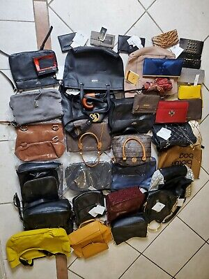 $ CDN12.44 • Buy Lot Of (37) Handbags Wallets Clutches And Accessories For Parts Repair Crafts