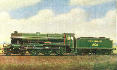 £1.35 • Buy 1930s Postcard Southern Railway 4-6-0 Lord Nelson Class No 850 LORD NELSON