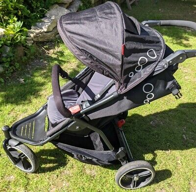 £140 • Buy Phil&Teds Dot V3 Single Pushchair Off-road (washed) Aerotech Tyres & Footmuff