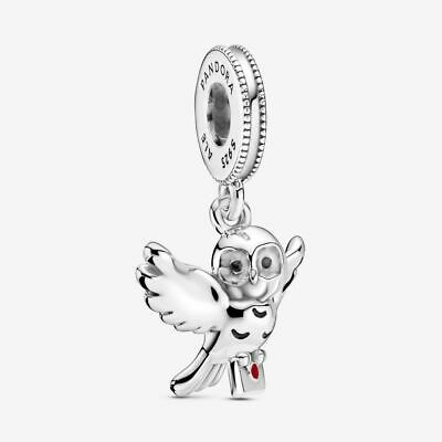 £5.50 • Buy ALE Genuine Silver Pandora Harry Potter, Hedwig Owl Dangle Charm With Gift Box