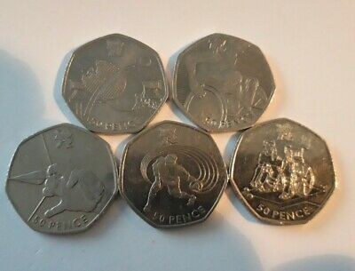 £12.95 • Buy 2011 Paralympic Set Of All 5 Coins