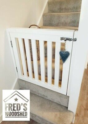 £99.99 • Buy Bespoke Solid Wooden Stair Gate - Made To Measure