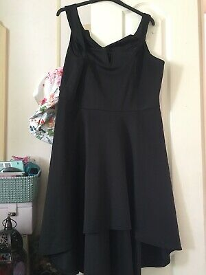 £7 • Buy Ladies Size 28 Dress By Be Jealous Off The Shoulder Neckline Low To High Hem