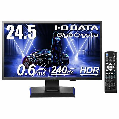 AU604.85 • Buy IO DATA Gaming Monitor 24.5 Inches 240Hz / 120Hz GigaCrysta PS5 PS4 FPS Directio