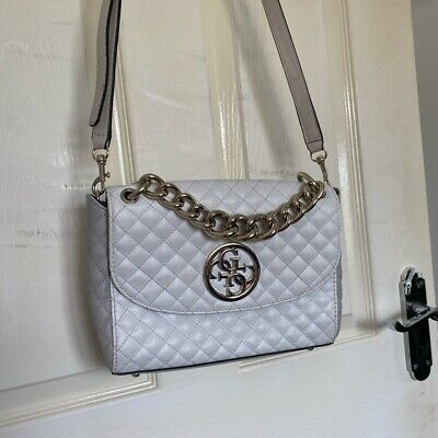 £30 • Buy White Guess Quilted Bag