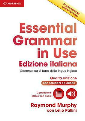 £31.60 • Buy Essential Grammar In Use Book With Answers And Interactive EBook Italian Edition