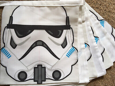 £15 • Buy Lego Star Wars Themed Bunting Flags, Matches Children's Bedding Duvet
