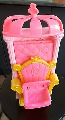 £0.99 • Buy Barbie Dreamtopia Portable Castle Throne Converts To Bed Used