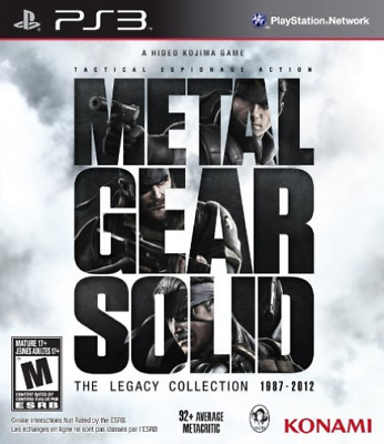 £26.99 • Buy Ps3 Action-metal Gear Solid:legacy Collection (no Artbook) Game New