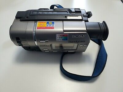 $ CDN1 • Buy Sony Camcorder 8mm CCD TR-517 Convert Old 8mm Tapes Includes Converter