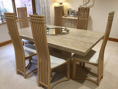 £500 • Buy Marble Dining Table And Chairs Used
