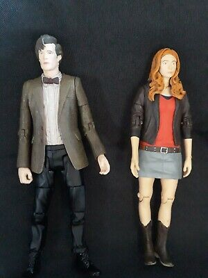 £18.99 • Buy Doctor Who 11th Doctor & Amy Pond Figures