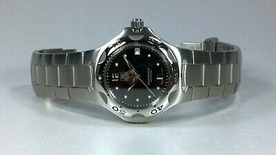 £445 • Buy TAG Heuer Kirium Gents Quartz Watch Black Dial With Date Boxes & Booklets