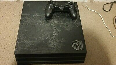 AU350 • Buy Sony PlayStation 4 PS4 Pro 1TB Kingdom Hearts III Limited Edition And 3 Games