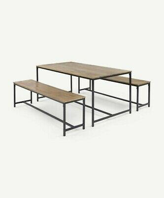 £219 • Buy Made.com Lomond Dining Table In Black And Mango Wood