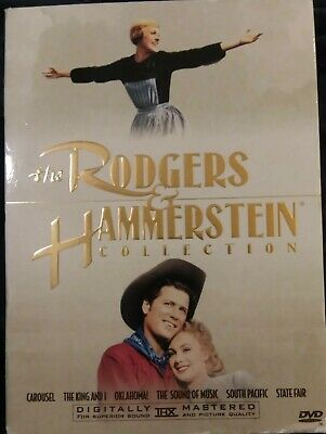 £12 • Buy The Rodgers And Hammerstein Collection (DVD, 2000, 7-Disc Box Set) VG Free Shpg
