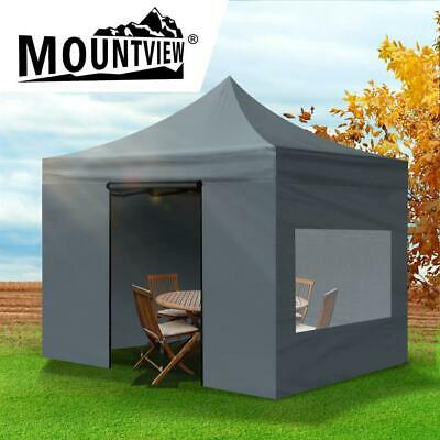 AU115.60 • Buy Mountview Gazebo Marquee Gazebos Tent 3x3 Camping Outdoor Canopy Mesh Side Wall