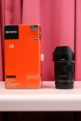 AU750 • Buy Sony Zeiss Sonnar T 55mm F/1.8 FE ZA Lens E Mount A7 A9