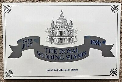 £1.70 • Buy The Royal Wedding Stamps 1981 - Mint Souvenir Pack